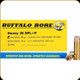 Buffalo Bore - Heavy 38 Special+P - 158 Gr - Soft Cast Lead Semi-Wadcutter Hollow Point Gas Check - 20ct - 20A