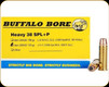 Buffalo Bore - Heavy 38 Special+P - 125 Gr - Low Velocity Jacketed Hollow Point - 20ct - 20B