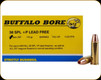Buffalo Bore - Heavy 38 Special+P - 110 Gr - Barnes TAC-XP - Lead Free Hollow Point - 20ct - 20F