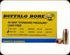 Buffalo Bore - 40 S&W - 140 Gr - Standard Pressure - Barnes TAC-XP Lead Free Hollow Point - 20ct - 23E