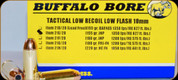 Buffalo Bore - 10mm Auto - 155 Gr - Tactical Low Recoil Low Flash - Jacketed Hollow Point - 20ct - 21E