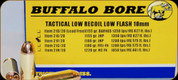 Buffalo Bore - 10mm Auto - 180 Gr - Tactical Low Recoil Low Flash - Jacketed Hollow Point - 20ct - 21F