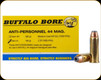 Buffalo Bore - 44 Mag - 180 Gr - Anti-Personnel - Jacketed Hollow Point - 20ct - 4I