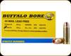 Buffalo Bore - Heavy 44 Mag - 225 Gr - Barnes XPB Lead Free Hollow Point - 20ct - 4L