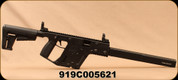 """Consign - Kriss Vector - 9mm - GEN II CRB BLACK KV90-CBL00CA - Advanced Polymer Composite 6 Position Adjustable Stock/Black Nitride, 18.6""""Barrel - Low Rounds Fired - Non-Restricted"""