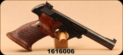 "Used - Hi-Standard - 22LR - Model 104 Supermatic Citation - Wood Grips/Blud, 5.5""Barrel, c/w 2 magazines"