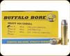 Buffalo Bore - 454 Casull - 325 Gr - Hard Cast Long Boat Tail Lead Flat Nose - 20ct - 7A