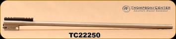 """Consign - Thompson Center - 22-250Rem - Encore Pro Hunter - Barrel Only - Stainless, 28""""Fluted"""