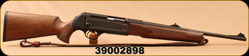 """Consign - H&K - 9.3x62 - SLB 2000 - Semi-Auto - Laquered Walnut Stock/Matte Black, 19.7""""Barrel, detachable magazine, c/w leather sling & dies - Less than 50 rounds fired"""