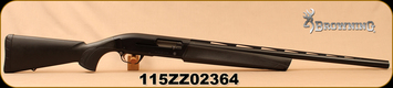 "Consign - Browning - 12Ga/3""/26"" - Maxus Stalker - Semi-Auto Shotgun w/Power Drive Gas System - Black Synthetic Stock/Aluminum Alloy Receiver/Matte Black Barrel, Lightning Trigger - Under 500 rounds"
