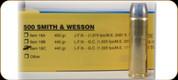 Buffalo Bore - 500 S&W - 440 Gr - Hard Cast Lead Flat Nose Gas-Check - 20ct - 18C
