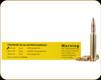 Buffalo Bore - 30-06 - 150 Gr - Premium Supercharged - Spitzer Flat Base - 20ct - 40A