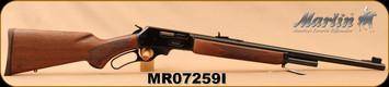 "Marlin - 45-70Govt - Model 1895 - Lever Action Rifle - Walnut Stock/Blued Finish, 22""Barrel, 4 Rounds, Mfg# 70460, S/N MR07259I"