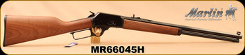 "Marlin - 357Mag/38Spl - Model 1894CB Cowboy - Lever Action Rifle - American Black Walnut Stock/Blued Finish, 20"" Octagon Barrel, 10 Round Tubular Magazine, Marble Sights, Mfg# 70440, S/N MR66045H"