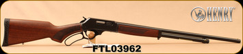 "Henry - 410Ga/2.5""/24"" - Lever Action Shotgun - American Walnut Stock/Blued Finish, 5 Round Capacity, Fully Adjustable Semi-Buckhorn With Diamond Insert Rear Sight, Mfg# H018-410, S/N FTL03962"