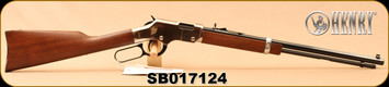 "Henry - 22S/L/LR - Golden Boy Silver - Lever Action Rifle - American Walnut Stock/Nickel Plated Receiver/Blued, 20"" Barrel, 16 Rounds, Mfg# H004S, S/N SB017124"
