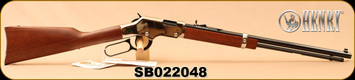 "Henry - 22S/L/LR - Golden Boy Silver - Lever Action Rifle - American Walnut Stock/Nickel Plated Receiver/Blued, 20"" Barrel, 16 Rounds, Mfg# H004S, S/N SB022048"