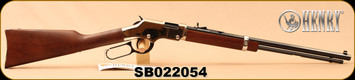 "Henry - 22S/L/LR - Golden Boy Silver - Lever Action Rifle - American Walnut Stock/Nickel Plated Receiver/Blued, 20"" Barrel, 16 Rounds, Mfg# H004S, S/N SB022054"