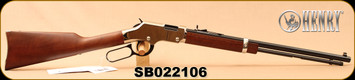 "Henry - 22S/L/LR - Golden Boy Silver - Lever Action Rifle - American Walnut Stock/Nickel Plated Receiver/Blued, 20"" Barrel, 16 Rounds, Mfg# H004S, S/N SB022106"