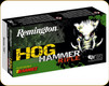 Remington - 45-70 Gov't - 300 Gr - Hog Hammer - Barnes Triple Shock-X Flat Nose - 20ct - 27807