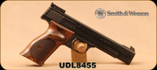 "Consign - Smith & Wesson - 22LR - Model 41 - SA Rimfire Handgun - Wood Grips/Blue Finish, 5.5""Barrel, Mfg# 130511 - In original case"