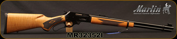 "Marlin - 30-30Win - Model 336C Curly Maple - Lever Action Centerfire Rifle - Curly Maple Stock/Polished Blued, 20""Barrel w/Micro-Groove Rifling, Mfg# 70527, S/N MR32352I"