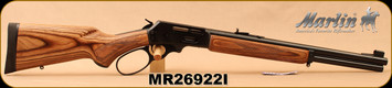 "Marlin - 45-70Govt - Model 1895GBL - Big Loop Lever Action, Laminate/Blued, 18.5""Barrel, Semi Buckhorn sights, 6-shot tubular magazine - MFG# 70456, S/N MR26922I"