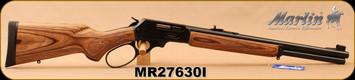 "Marlin - 45-70Govt - Model 1895GBL - Big Loop Lever Action, Laminate/Blued, 18.5""Barrel, Semi Buckhorn sights, 6-shot tubular magazine - MFG# 70456, S/N MR27630I"