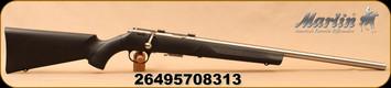 "Marlin - 22WMR - XT-22MVSR - Bolt Action Rimfire Rifle - Black Synthetic Stock/Stainless, 22""Micro-Groove Bull Barrel, 4 Round magazine, Mfg# 70831"