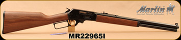 "Marlin - 45-70Govt - 1895CBA - Lever Action Rifle - American Black Walnut/Blued Finish, 18.5"" tapered octagon barrel, 6 round tubular magazine, Adjustable Sights, Mfg# 70458, S/N MR22965I"
