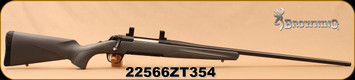"Used - Browning - 26Nosler - X-Bolt Synthetic Gray Hunter - Gray Composite Stock/Matte Blued, Free Floated 26""Barrel, 2 Detachable Rotary magazines, 1""rings - In original box"
