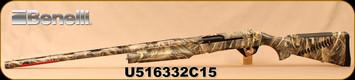 """Used - Benelli - 12Ga/3.5""""/28"""" - Super Black Eagle II - LH - Inertial semi-automatic - Max5 Camo Technopolymer with Air Touch checkering, Crio Barrel, c/w 4 chokes - In original case"""