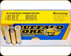 Buffalo Bore - 45-70 Govt - 300 Gr - Lower Recoil Standard Pressure Full Power - Jacketed Hollow Point - 20ct - 8K