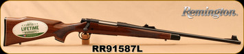 "Remington - 270Win - Model 700 BDL ""Custom Deluxe"" - Bolt Action Rifle - High Gloss Walnut Stock/Blued, 22"" Barrel, 4 Rounds, Mfg# 25791, S/N RR91587L"