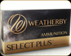 Weatherby - 300 Wby Mag - 165 Gr - Select Plus - Ultra-High Velocity Barnes TTSX (Tipped Triple-Shock-X) - 20ct - 17429