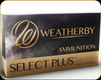 Weatherby - 7mm Wby Mag - 160 Gr - Select Plus - Ultra-High Velocity Nosler Partition Flat Base - 20ct - N7MM160PT