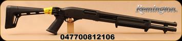 "Remington - 12Ga/3""/18.5"" - 870 Express Tactical Side Folder - Pump Action Shotgun - Matt Black Finish, Pistol Grip Side Folding Stock, 6 Rounds, Accepts RemChoke Tubes, Mfg# 81210"