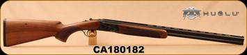 "Huglu - 28Ga/2.75""/26"" - 103D - O/U - Turkish Walnut/Case Hardened Receiver/Blued, Mobile Choke, SKU# 8681744307451, S/N CA180182"
