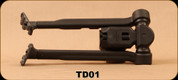 Consign - Tango Down - Advanced Combat Bipod - Matte Black, Fits Picatinny rail - Ver Low Use