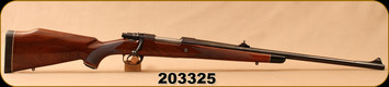 "Consign - Interarms - 375H&H - Mark X - Walnut/Blued, 24""Barrel, Mauser controlled feed, Bedded, c/w DNZ 1"" rings & Bases - Less than 50 rounds fired"