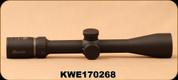 Used - Burris - Droptine - 3-9X40mm - SFP - Ballistic Plex Ret - Matte - Mfg# 200017 - Unused in box - Demo Model - Cosmetic scratch