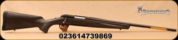 "Browning - 6.5Creedmoor - X-Bolt Composite Stalker - Black Composite Stock/Matte Blued, 22""Barrel, Adjustable Trigger, 1:8""Twist, Mfg# 035496282"
