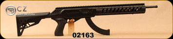 "CZ - 22LR - 512 Tactical - Matte Black ATI Tactical Chassis/ 6-Position Adjustable Stock w/adjustable comb height, 16.5""Threaded (1/2x28) Barrel, Picatinny Rail, Mfg# 02163"