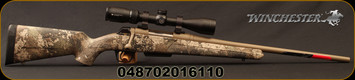 "Winchester - 6.5Creedmoor - XPR Hunter Compact Combo - Bolt Action Rifle - True Timber Strata Camo/Permacote flat dark earth finish, 20""Barrel, c/w Vortex Crossfire II 3-9x40 with BDC reticle, full VIP Warranty from Vortex, Mfg# 535739289"