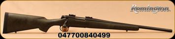 "Remington - 6.5Creedmoor - Model 700 NRA American Hunter Ltd.Edition - Olive Green w/Black Web Bell & Carlson stock w/aluminum bedding block/Black Cerakote, 20""fluted barrel w/5R rifling & threaded muzzle, Mfg# 84049"