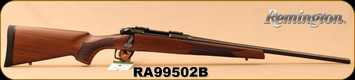 "Remington - 6.5Creedmoor - Model 783 Walnut - American Black Walnut/Blued, 22""Barrel, Crossfire Adjustable Trigger, MFG# 85866, S/N RA99502B"