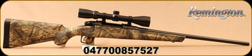 "Remington - 270Win - Model 783 Camo w/Scope - Mossy Oak Break Up Country Synthetic Stock/Matte Black, 22"" Barrel, 1:10""Twist, 4rd Detachable Mag, CrossFire trigger system, Mounted & Bore sighted 3-9x40mm Scope, Duplex Reticle, Mfg# 85752"