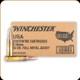 Winchester - 5.56mm - 55 Gr - Lake City - Full Metal Jacket - 1000ct - USA556LK