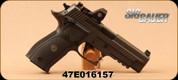 """Consign - Sig Sauer - P226 RX Legion - Semi- Auto Pistol - Custom G-10 Grips/Legion Gray PVD, 4.4""""Barrel, X-Five Undercut Trigger Guard, c/w Romeo1 Mini Reflex Sight, Collectors box & Challenge Coin - Unfired in original case"""