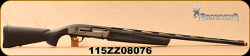 "Used - Browning - 12Ga/3""/30"" - Maxus Sporting Carbon Fiber - Semi-Auto - Composite Stock/Carbon Fiber Finish, Lightning Trigger, Speed Lock Forearm, c/w Browning Diana Grade 12 Gauge Extended Skeet Choke Tube & Original Chokes - Low round count - In"